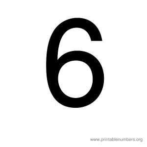 printable_number_6