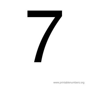 printable_number_7
